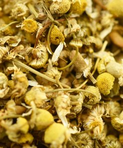Mayfair Tea Camomile Tea Closeup