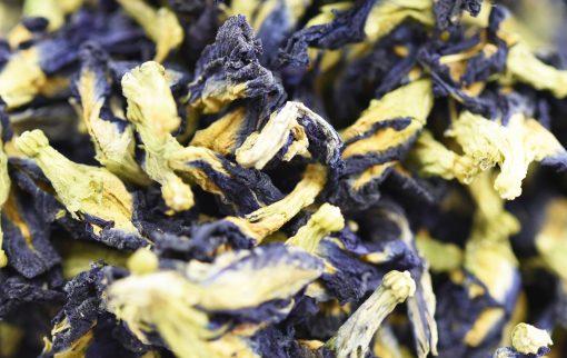 Mayfair Tea Blue Tea Closeup