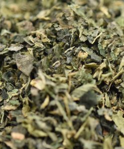 Mayfair Tea Nettle Leaf Tea Closeup