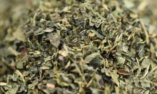 Mayfair Tea Nettle Leaf Tea Closeup