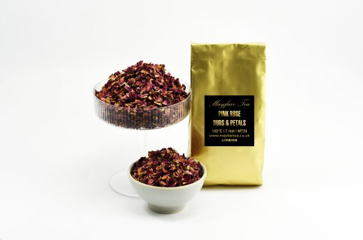 Mayfair Tea Pink Rose Buds and Petals