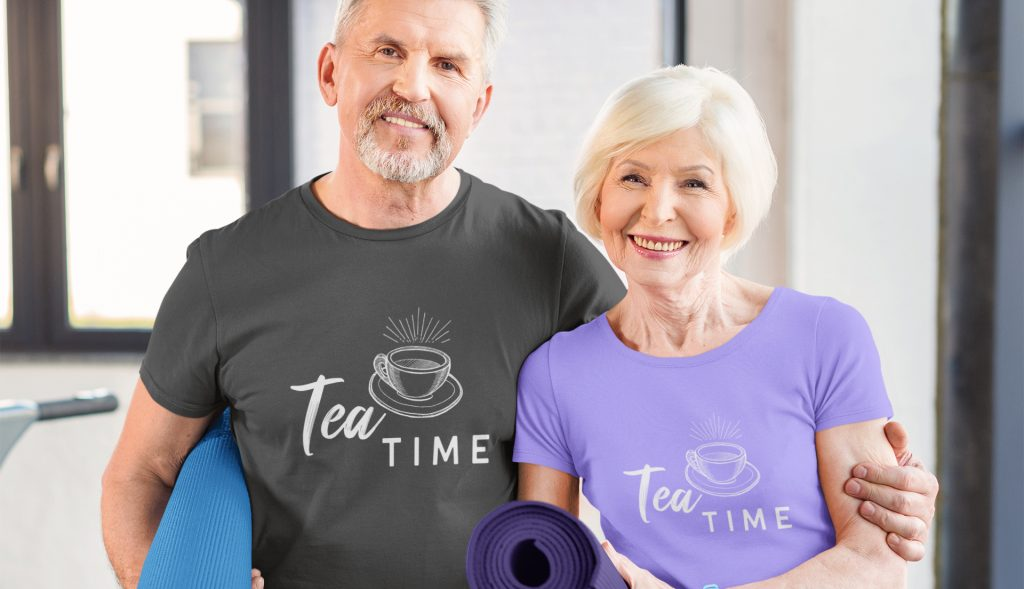 Tea Time T-shirt Gift